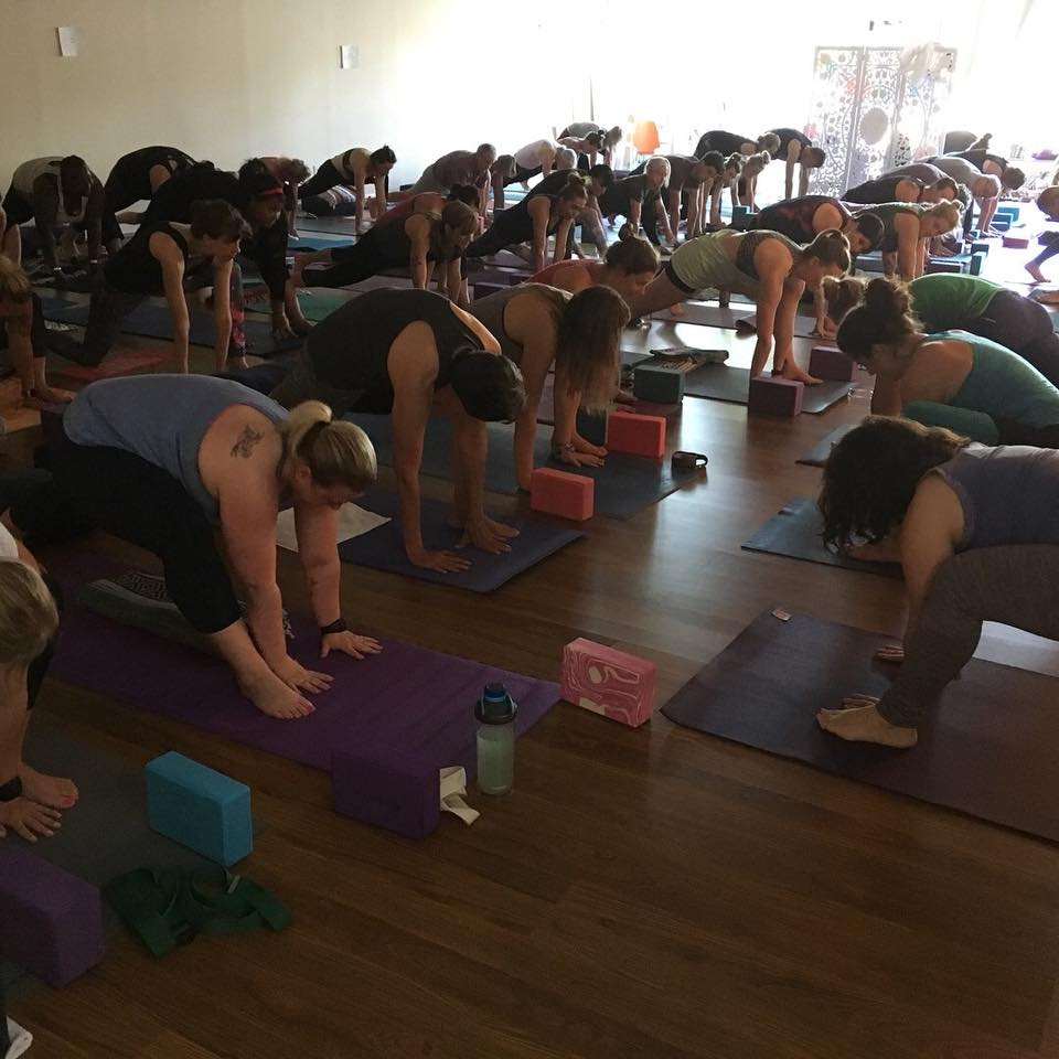 Blue Sky Yoga Celebration Relay Class 7.20.18